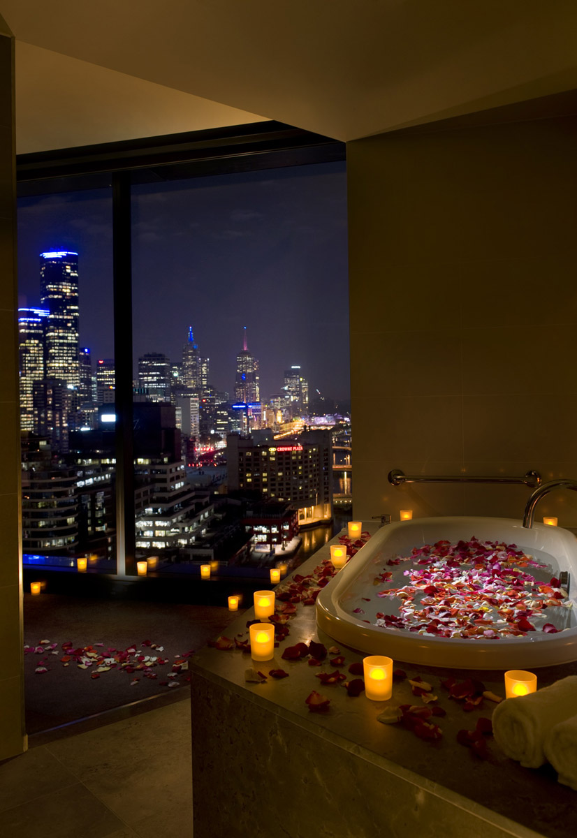 Hilton in room spa - Melbourne, Australia